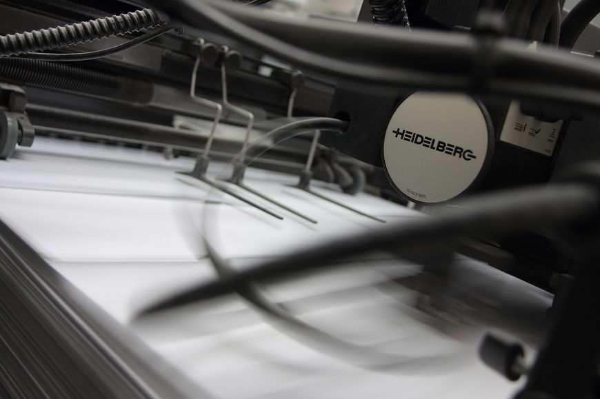 Odpowiednio działająca drukarnia